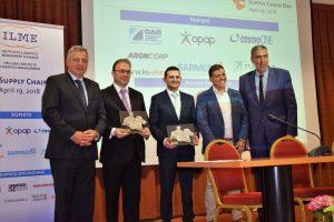 Από αριστερά προς τα δεξιά: Γιάννης Περλεπές, Στάθης Μακαντάσης, Χρήστος Καραϊσαρίδης, Νίκος Αδαμόπουλος, Σπύρος Ολύμπιος.